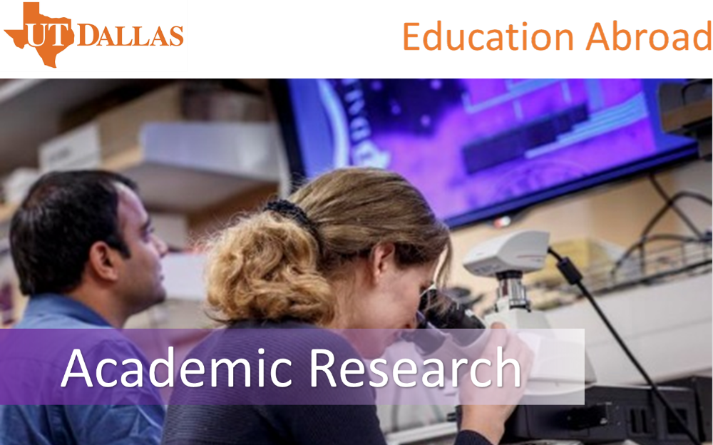 Academic Reasearch